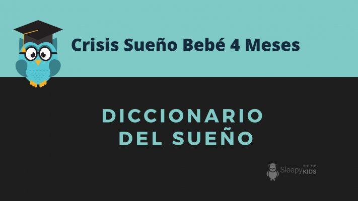 crisis sueño bebe 4 meess